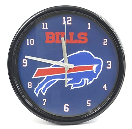 Amazon Com Buffalo Bills Large Wall Clock Ideal For Family