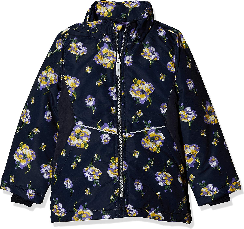 NAME IT M/ädchen Nkfmaxi Jacket Flower Jacke
