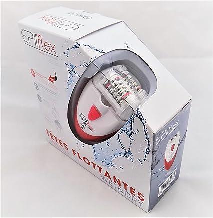 Depiladora de cabeza doble Epiflex EP811-35