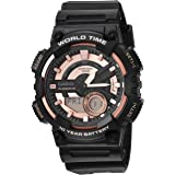 Casio Men's Telememo Quartz Watch with Resin...