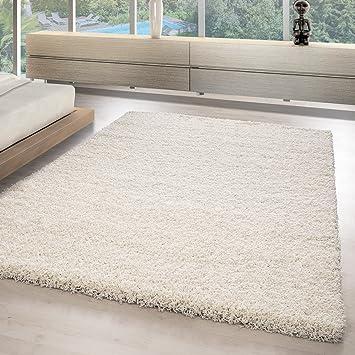 hochflor shaggy teppiche für wohnzimmer, esszimmer, gästezimmer ... - Teppich Fur Wohnzimmer