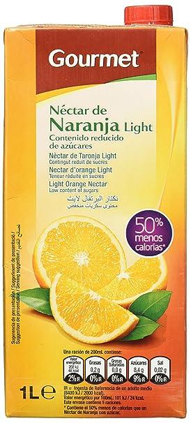 Gourmet - Néctar de Naranja - A partir de concentrado con edulcorantes - 1 l -