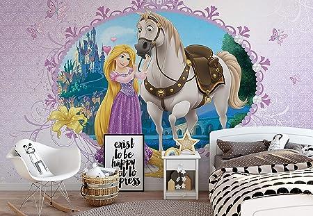 Princesse Papier Peint entremêlé Raiponce Disney photo Feature Wall Decor