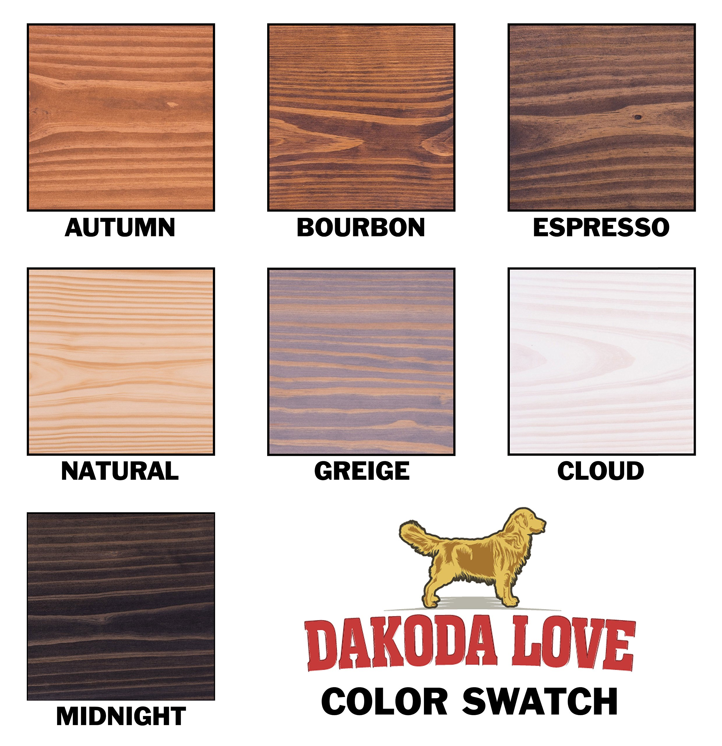 DAKODA LOVE 5.25'' Deep Weathered Edge Floating Shelves, USA Handmade, Clear Coat Finish, 100% Countersunk Hidden Floating Shelf Brackets, Beautiful Grain Pine Wood Rustic (Set of 2) (36'', Greige) by DAKODA LOVE (Image #7)