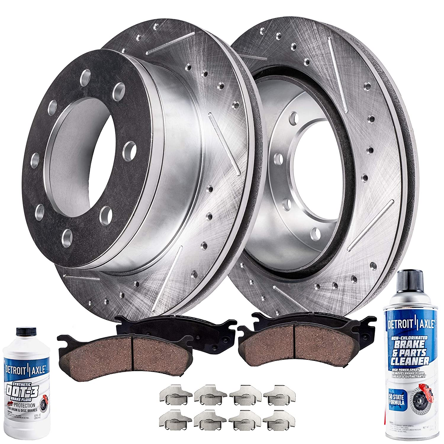 For 2005-2010 Ford F-350 Super Duty,F-250 Super Duty Rear Super Duty Brake Pads