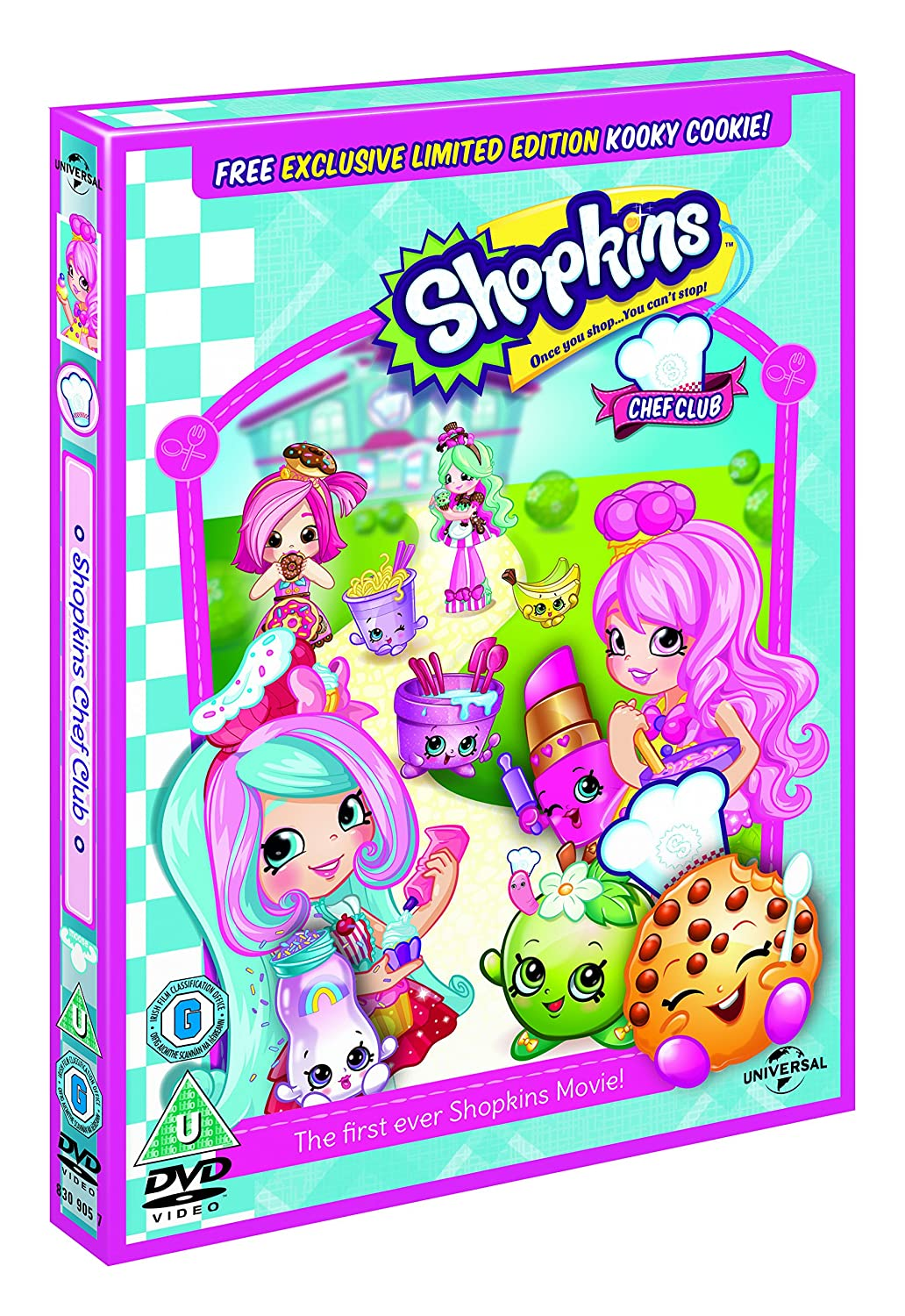 shopkins chef club includes limited edition kooky cookie gift dvd