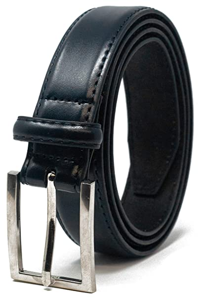 Brown Up To 56 Waist Black Mens Stylish Plain Leather Trouser Belt Made by Forest Belt Co