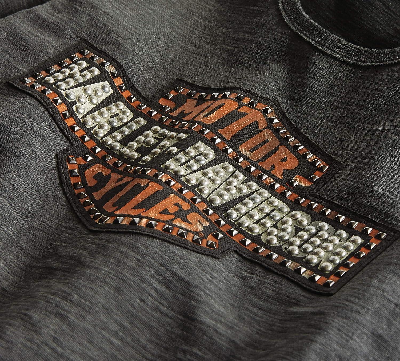 Harley-Davidson Womens Studded Logo Tee
