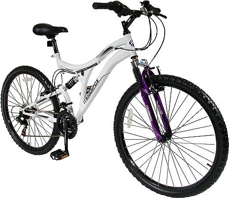 Muddyfox White Orchid - Bicicleta de montaña para Mujer, Talla M (165-172 cm), Color Blanco/Morado: Amazon.es: Deportes y aire libre