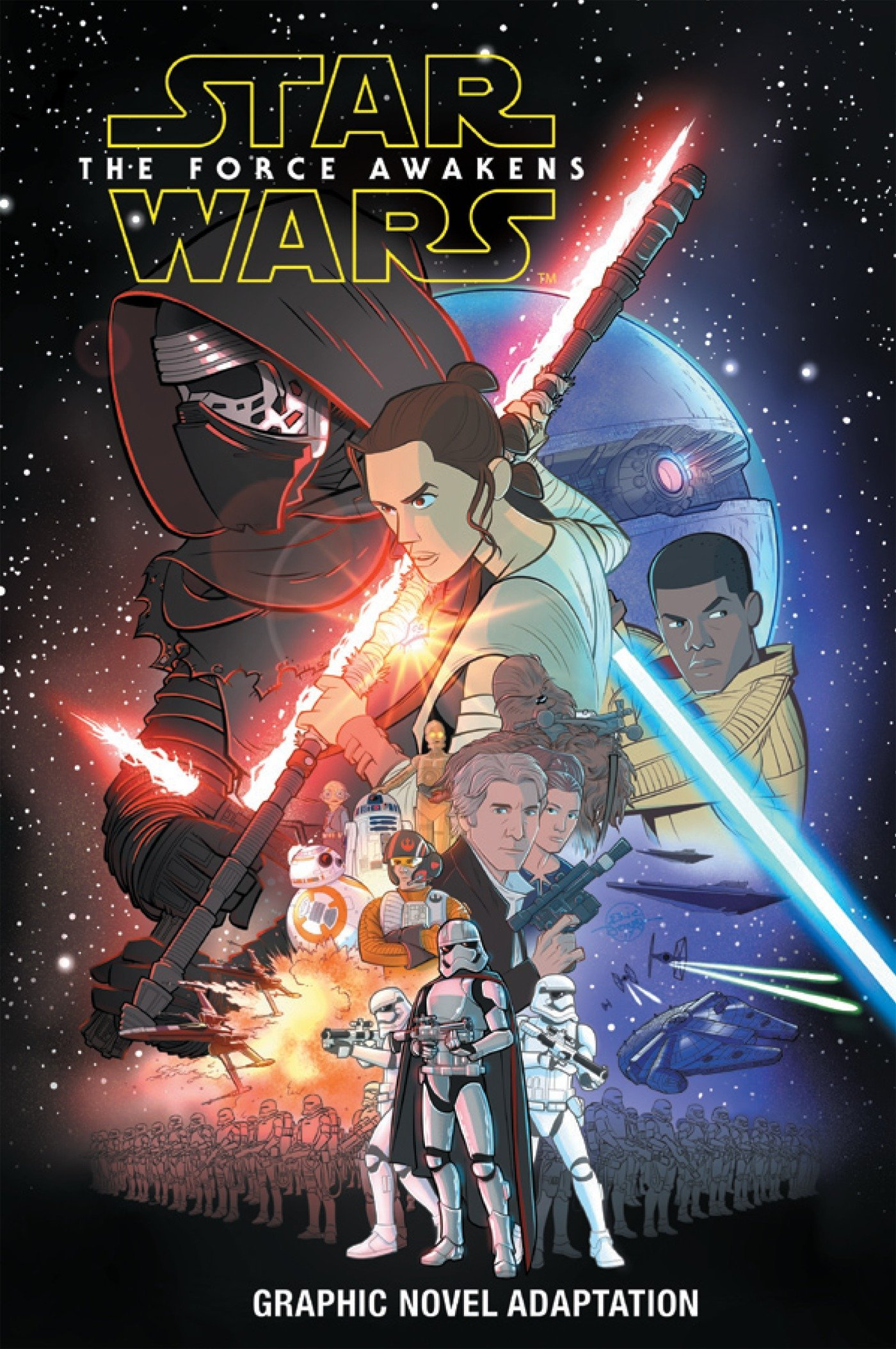 Star Wars: The Force Awakens Graphic ...
