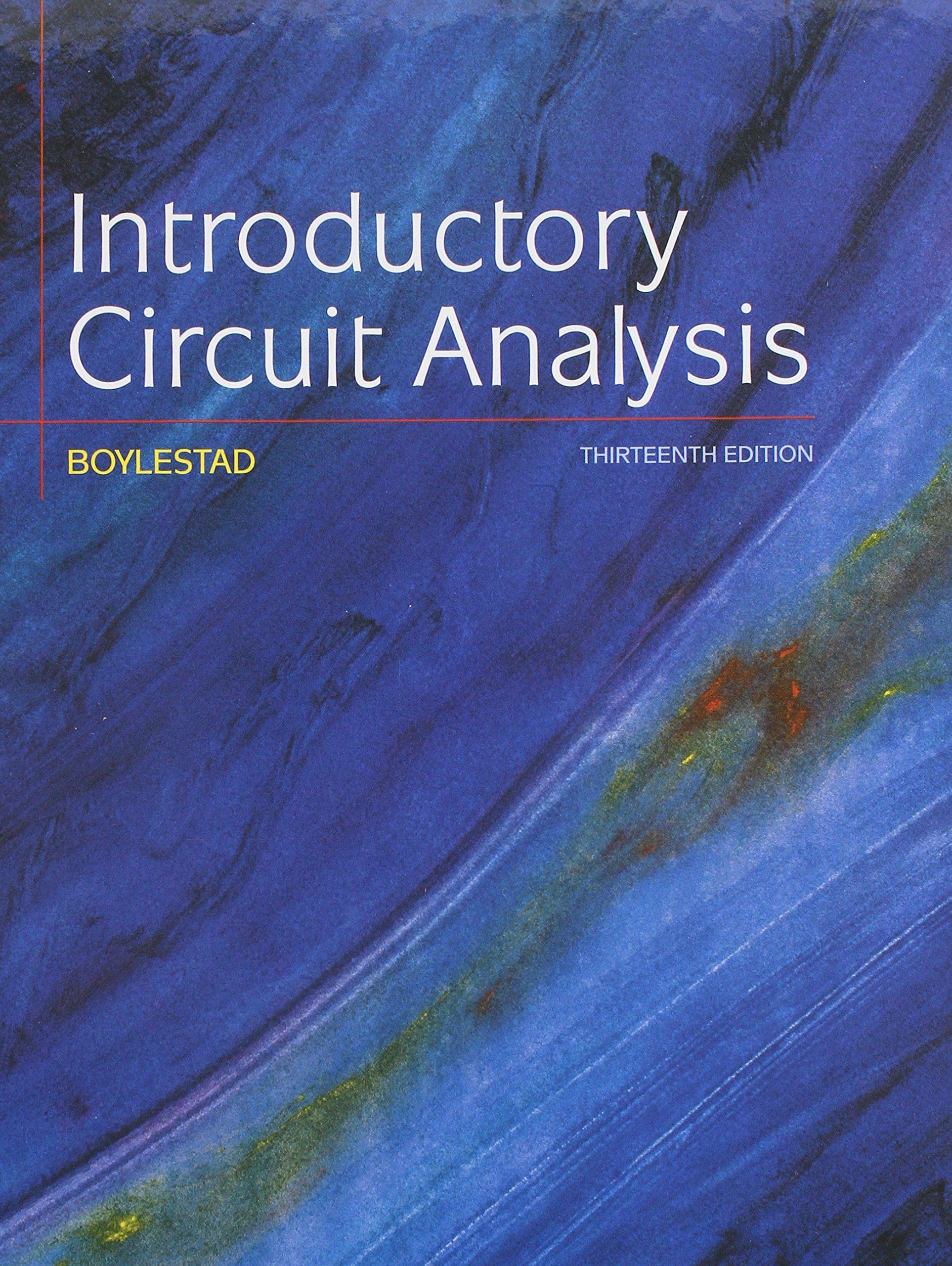 Introductory Circuit Analysis; Laboratory Manual for Introductory Circuit  Analysis: Robert L Boylestad: 9780134297446: Books - Amazon.ca