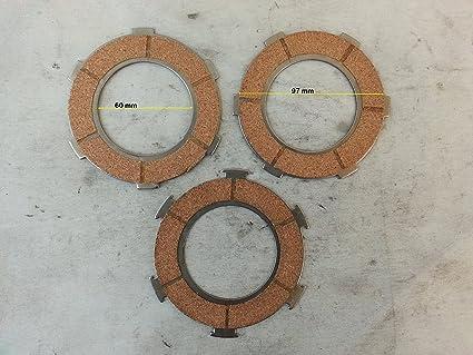 SERIE DISCI Embrague de Corcho 3 PZ.VESPA PX 125-150 Modelo FZ00303 2