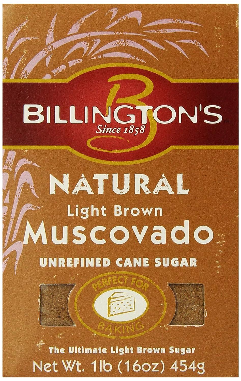 Amazon.com : Billingtonu0027s Natural Light Brown Muscovado, 16 Oz. (Pack Of  10) : Grocery U0026 Gourmet Food