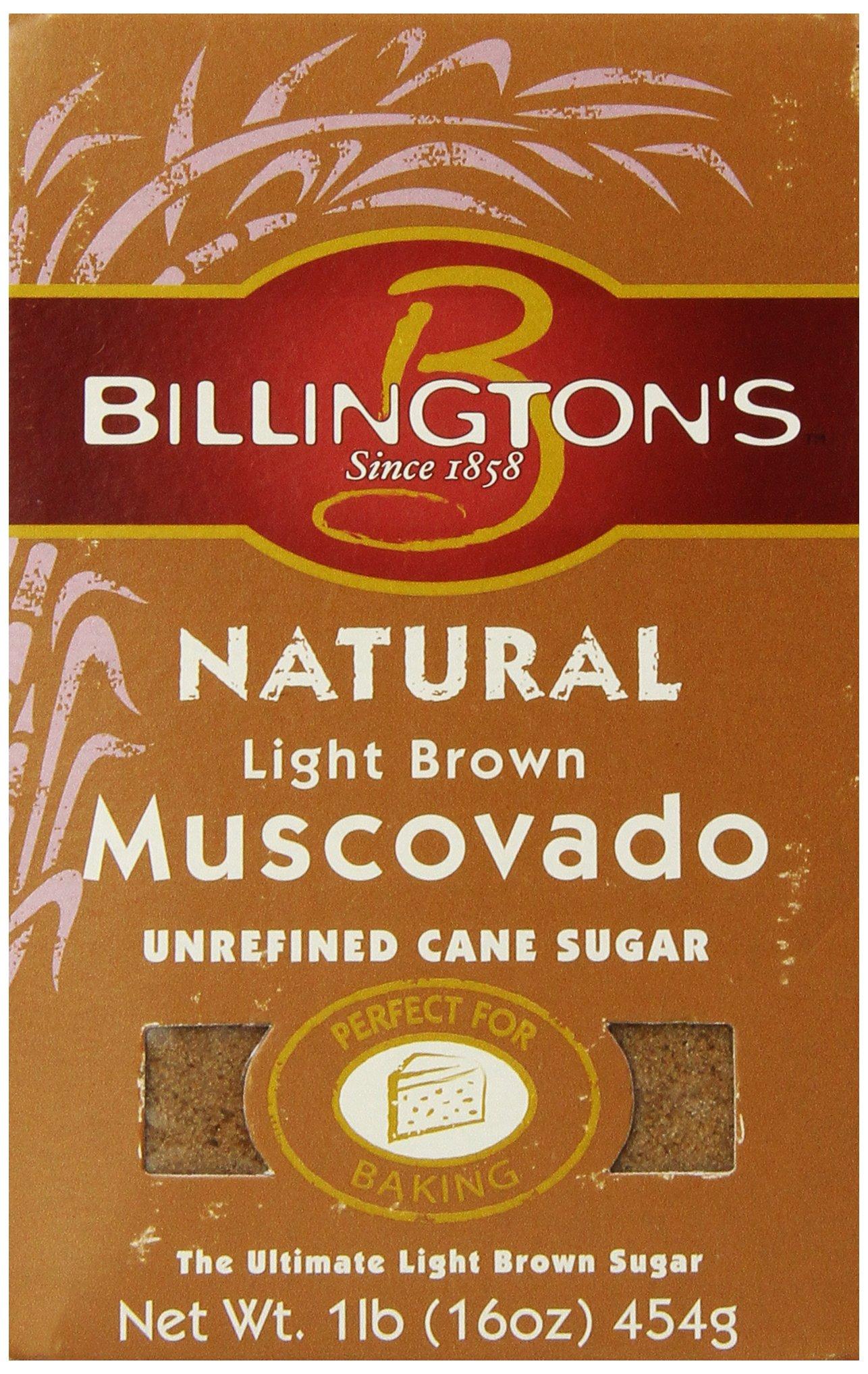 Billington S Natural Light Brown Muscovado Sugar