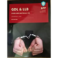 GDL & LLB Cases & Materials on Criminal Law 5th edition