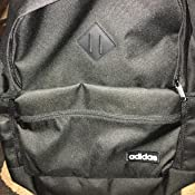 a7995e50522 Amazon.com: adidas Classic 3s Backpack, Glow Blue/Black/White, One ...