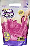 Kinetic Sand, Crystal Pink 2lb Bag of All-Natural Shimmering Play Sand for Squishing, Mixing and Molding, Sensory Toys…