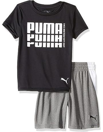 d5960fadc55b33 PUMA Little Boys  T-Shirt   Short Set
