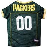 NFL Green Bay Packers Green Mesh Pet Football Jersey