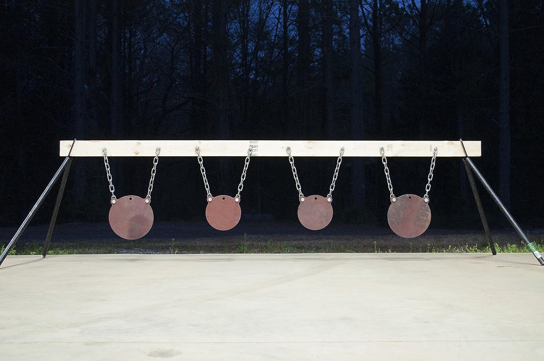 amazon com patented 2x4 target stand brackets ar500 steel