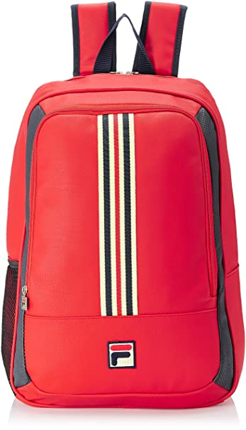 4d68e288bed2 Fila Synthetic 48 cms Chinese Red Casual Backpack (13000838)  Amazon.in   Bags
