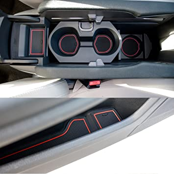 Amazon Com Custom Fit Cup Door And Center Console Liner