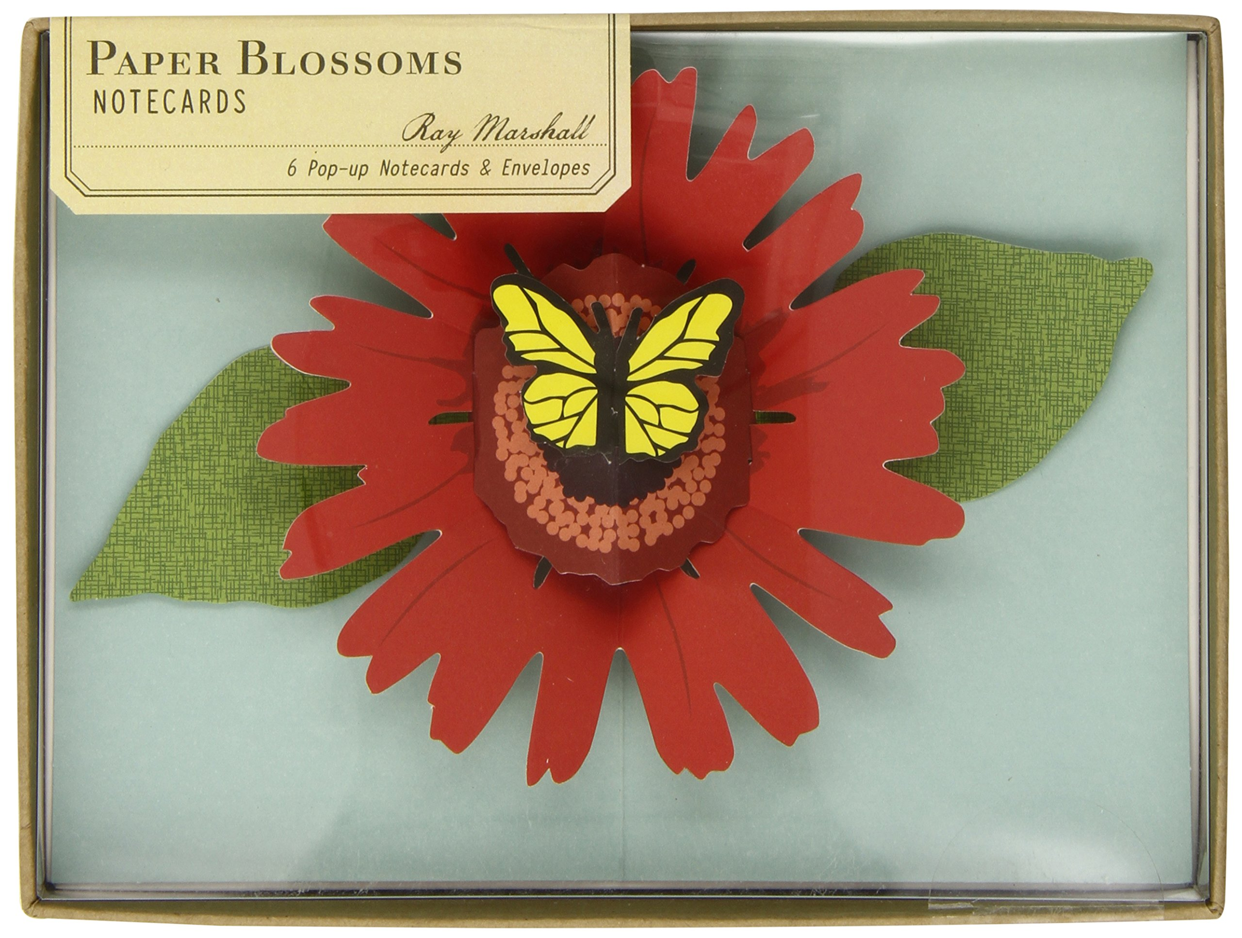 paper blossoms pop up notecards