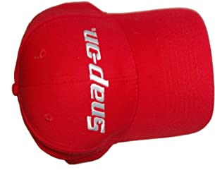 Coach Red Cap Snap on Tools Baseball Hat
