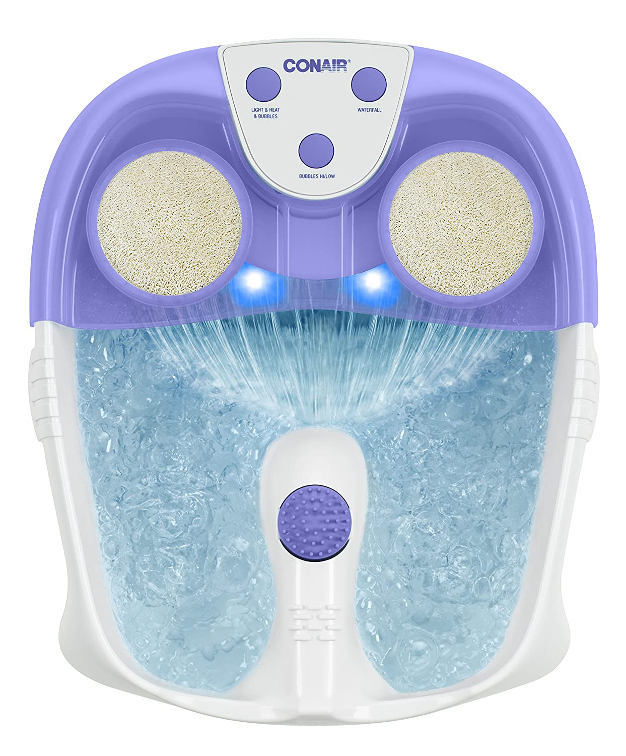 Amazon.com: Conair Foot/Pedicure Spa with Waterfall, Lights and ...