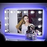 My Dari Light Hollywood Spiegel Theaterspiegel Spiegel mit glühbirnen schminkspiegel