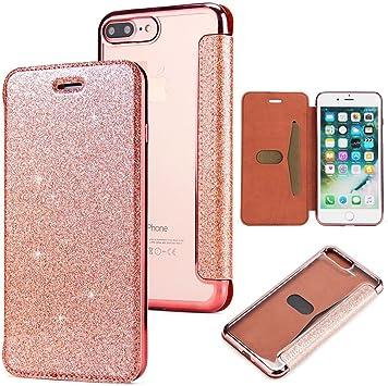 coque rose paillette iphone 7