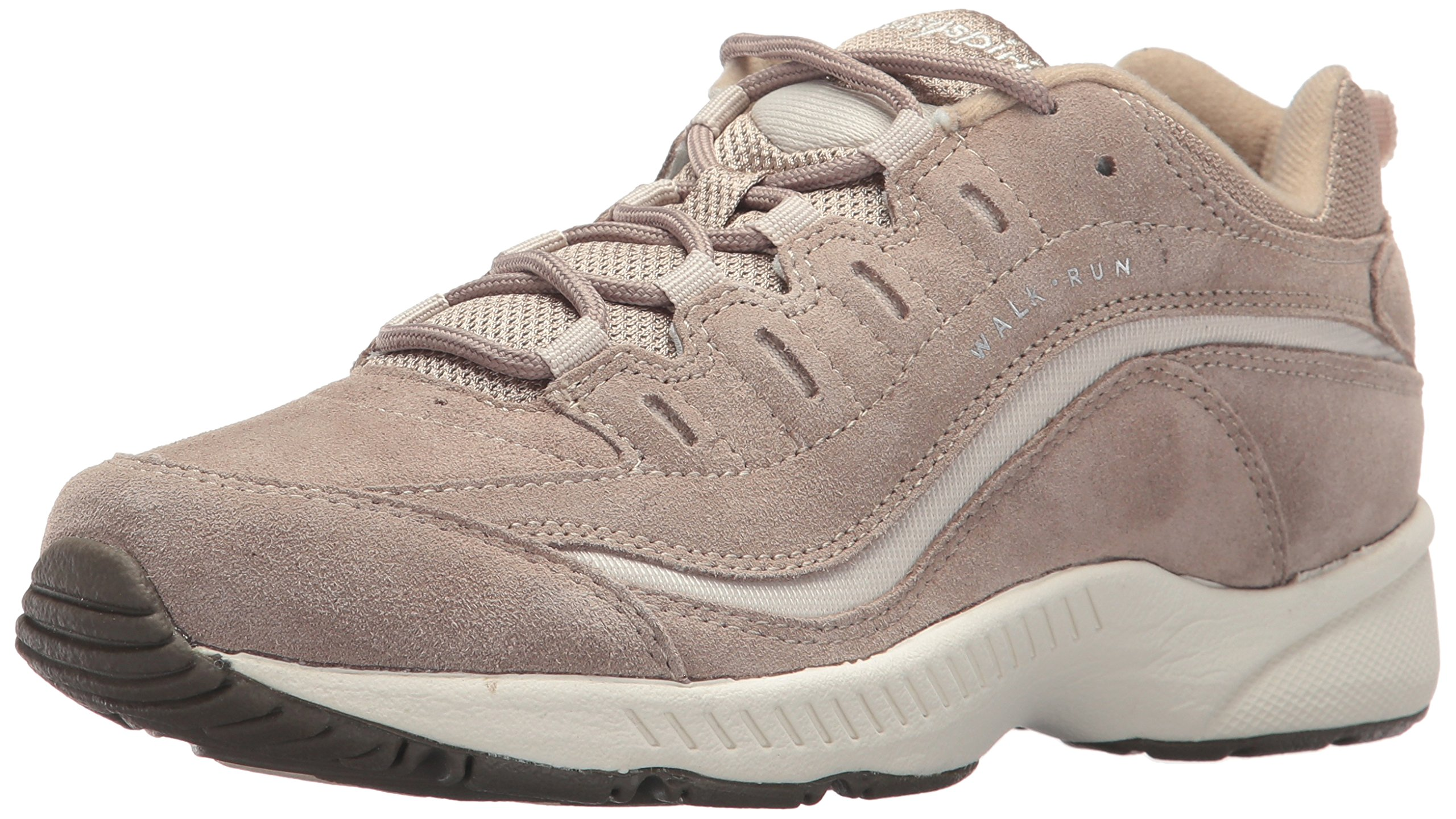 Easy Spirit Women's Romy Walking Shoe, Medium Taupe Multi Suede, 11 M US