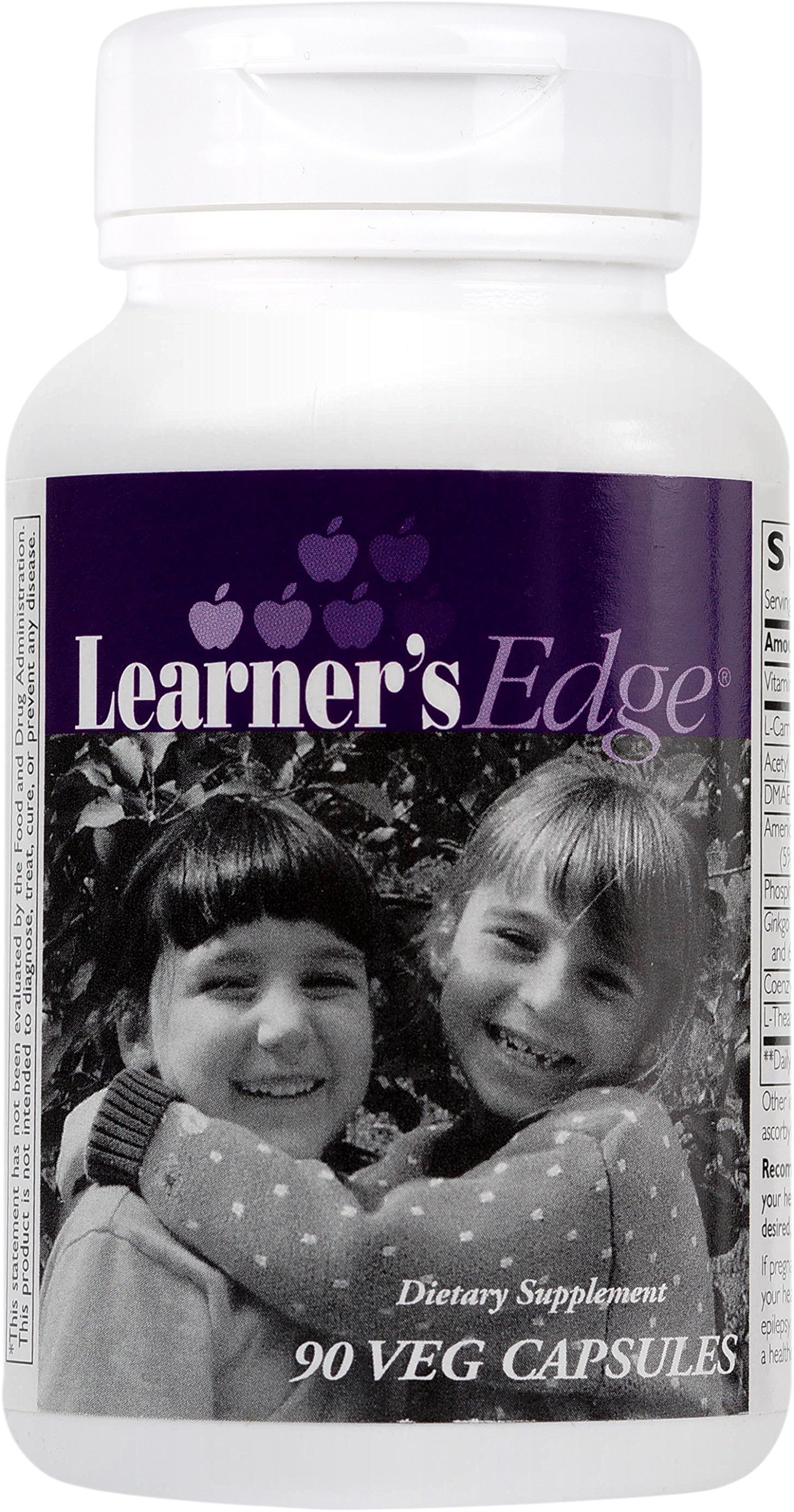 Enzymatic Therapy - Learner's Edge - Supports Healthy Neurological Development and Function in Children - 90 Capsules