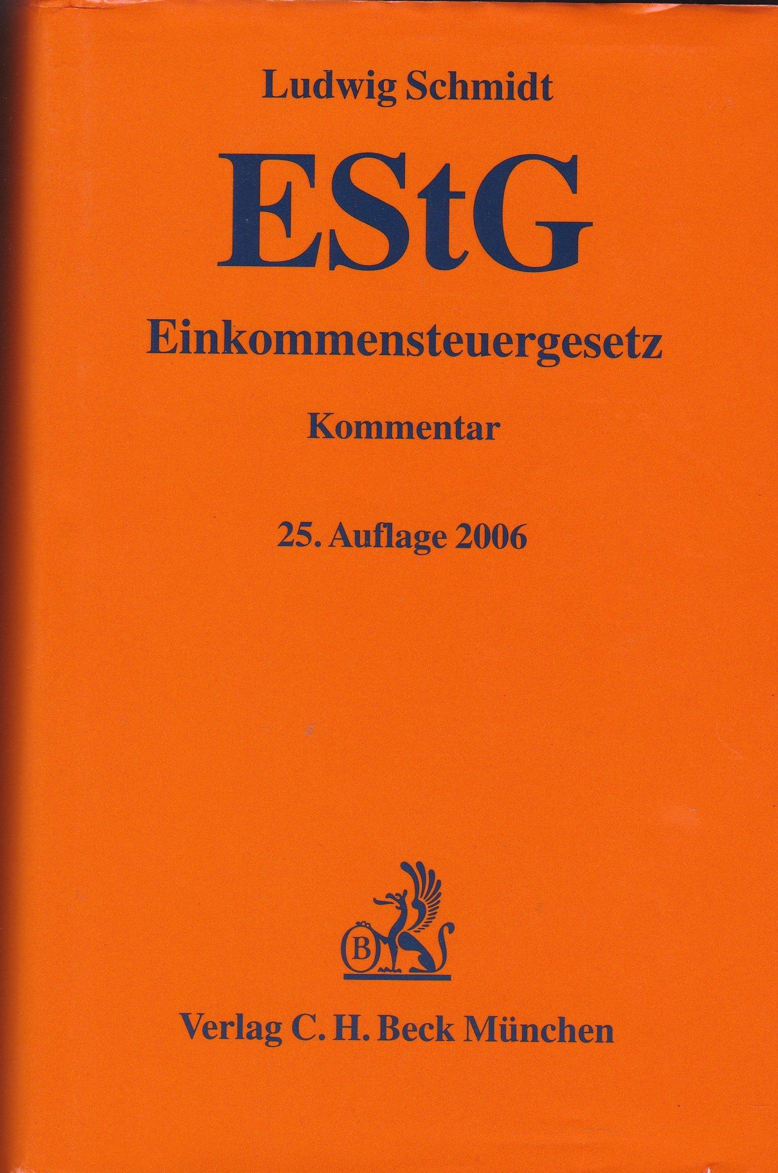 Einkommensteuergesetz: Rechtsstand: 20060301