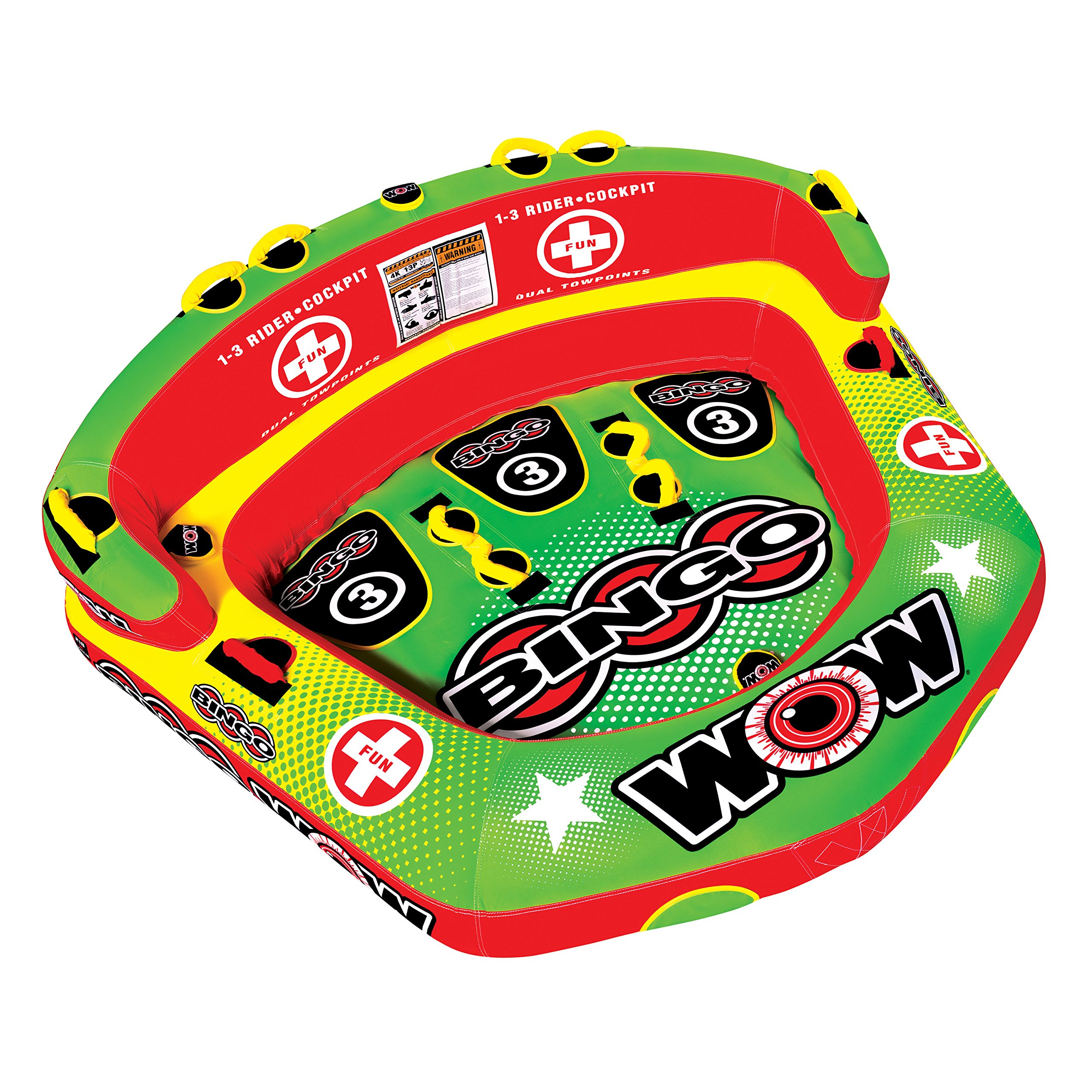 WOW Bingo 3 Rider Towable by WOW