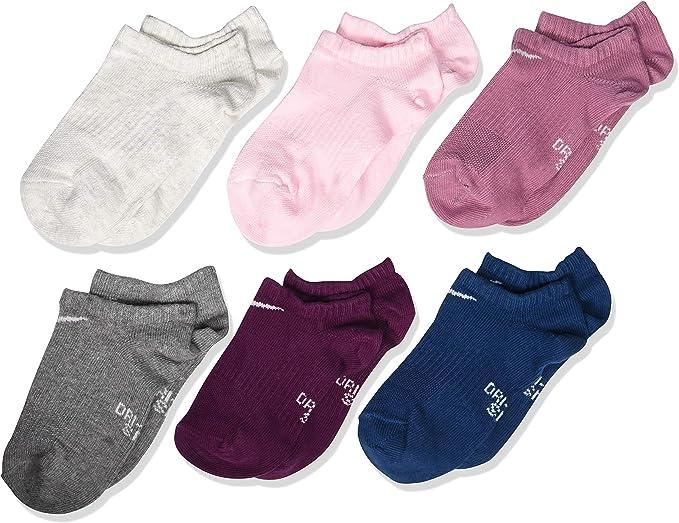 Amazon.com: Nike - Calcetines de entrenamiento para niños (6 ...