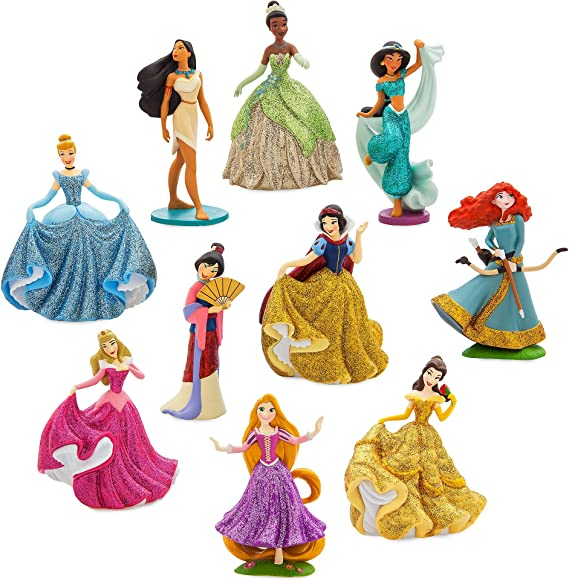 Disney Set de Juego de Figuras Princesa Deluxe