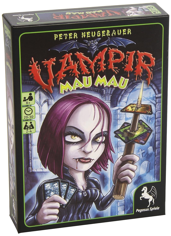 Pegasus Spiele 18120G–Vampire Mau Mau, Card Game