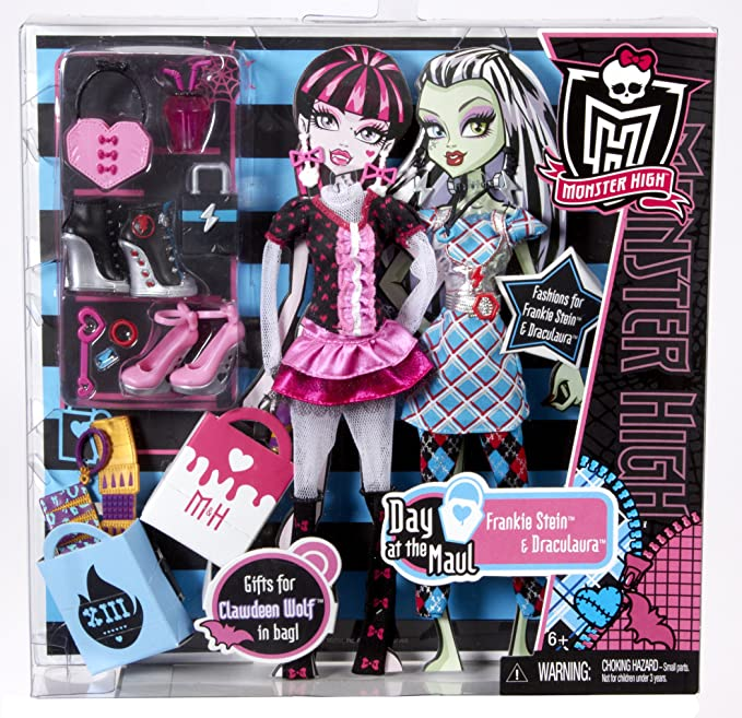 Amazon.es: Mattel W8696 Set 2 Vestidos + Accesorios Monster High ...