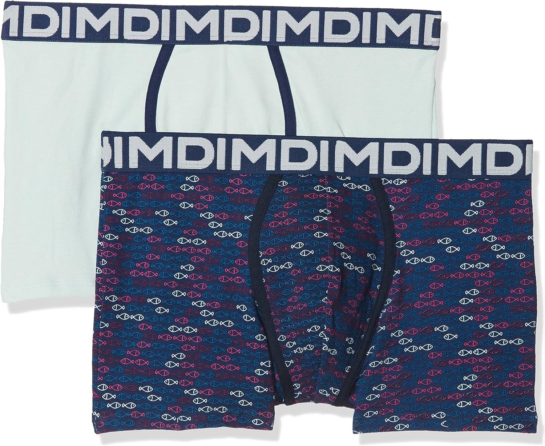 Dim AD0068B.5W650 Bóxer, Azul 5w6, Medium (Tamaño del Fabricante:3) (Pack de 2 para Hombre
