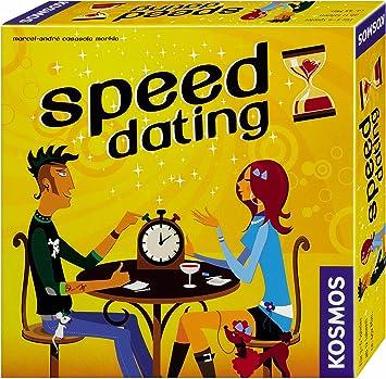 KOSMOS 692049 Speed Dating - Juego de Mesa (para Mayores de 12 años, de 3 a 6 Jugadores, Contenido en alemán): Casasola Merkle, Marcel A: Amazon.es: Juguetes y juegos