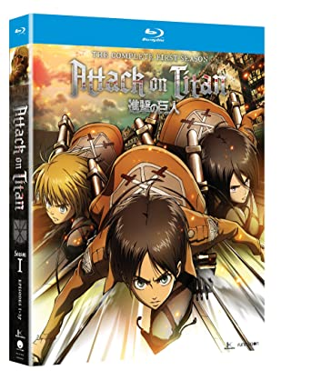 Attack On Titan Complete Season One Blu Ray