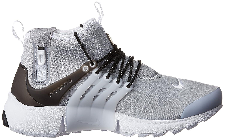 Nike - Air Presto Mid Util - 859524005 - Couleur: Gris-Noir - Pointure: 41.0 9j64Zu9w