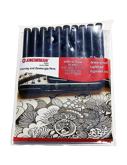 Image is loading Sakura-Zentangle-Zendala-Set-Wallet-of-Sakura-Fineliner-