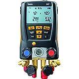 Kit Analisador Manifold Digital Bluetooth Válvulas de 4 vias com Maleta e 3 Sondas para Medição de Pressão Ref. 0563 1557 Kit