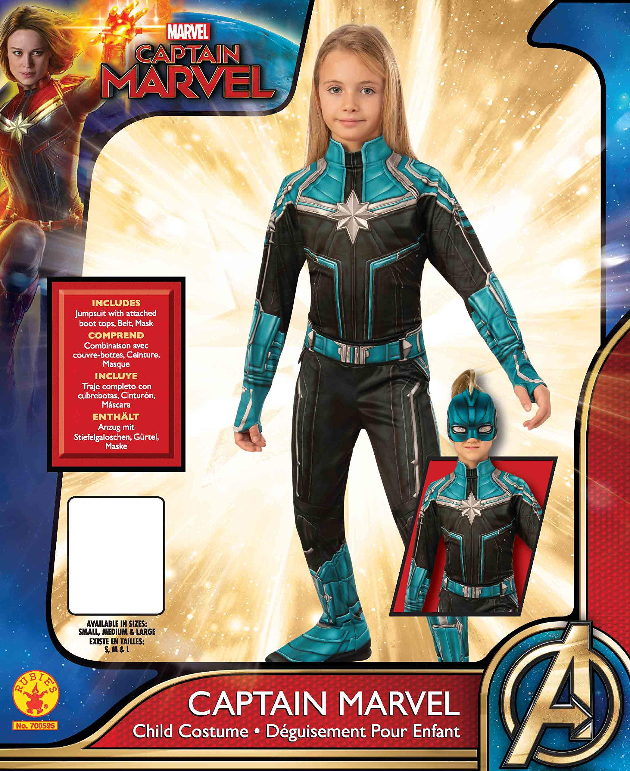 Dress Up Pretend Play Rubies Captain Marvel Childs Kree Suit Costume Large Dress Up Pretend Play Dress Up Pretend Play Costumes Chilling adventures of sabrina costumes. climate4rent