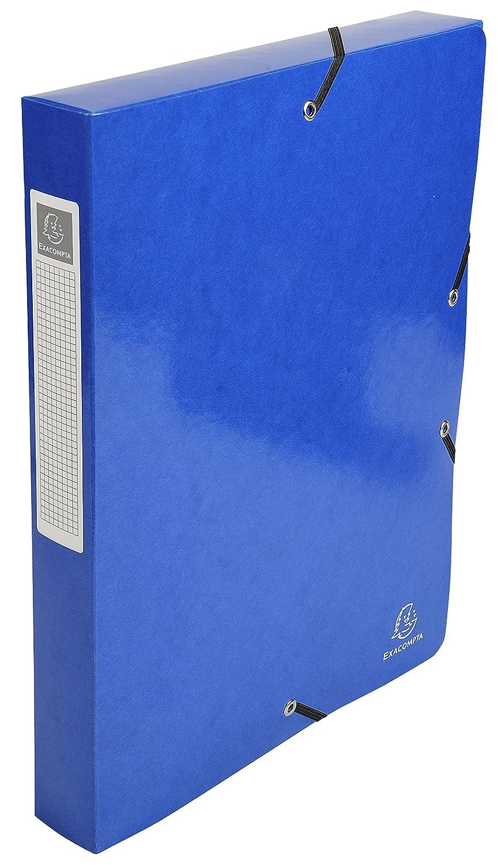Exacompta de 59928e Juego de Exacompta 8 cajas de índice idérama 600 G 25 x 33 cm), color azul oscuro bbd5f5