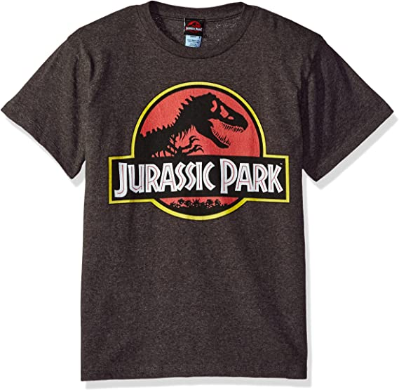 Details about  /Jurassic Park Juniors 3//4 Length Sleeve Top Officially Licensed T-Shirt Tee