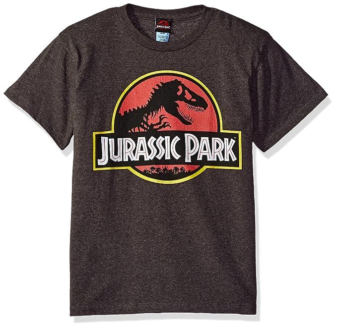 68e44276a Amazon.com  Jurassic Park Boys  Park Logo Graphic T-Shirt  Clothing