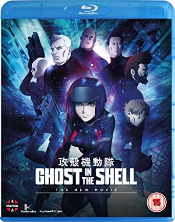Amazon Com Ghost In The Shell The New Movie Blu Ray Movies Tv